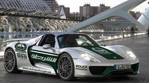 gold porsche 918 porsche 918 spyder dubai police u0027s new toy youtube