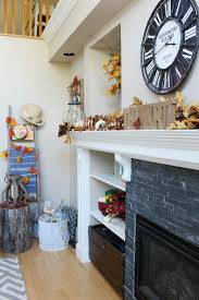 family room fall decorations clean and scentsible