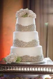 sparkling u0026 metallic wedding cakes weddbook
