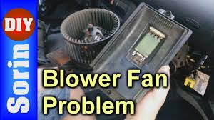 blower fan problem not working on speeds 1 2 3 seat leon 1m