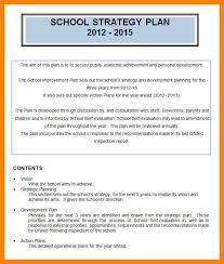 10 strategic plan template word cv for teaching