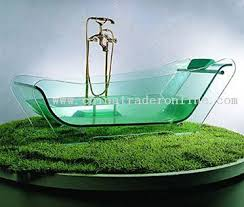 transparent bathtub indestructible glass bathtub is indestructible ohgizmo