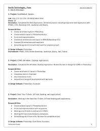 Ui Developer Resume Format Ui Developer Resume Eliolera Com