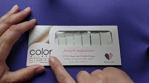 how to apply the french tip color street nails by founding stylist