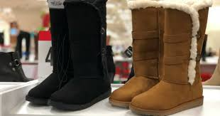 womens boots jcpenney jcpenney buy 1 pair boots get 2 free pairs hip2save