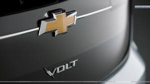 logo chevrolet wallpaper chevrolet volt u2013 logo on trunk wallpaper