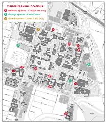 Picture Of Map Parking Maps University Of Houston