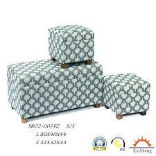 Printed Ottomans Sophisticated Patterned Storage Ottoman Printed Storage Ottoman