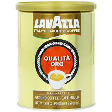 espresso ground coffee lavazza premium coffee qualita oro espresso 100 arabica