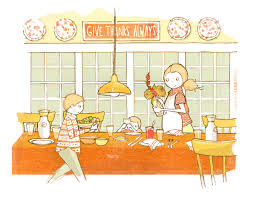 boy setting the table clipart clipground