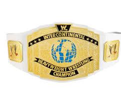 wwe intercontinental championship title belt u2013 pro wrestling costumes