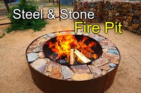 How To Use A Firepit Diy Pit With Steel