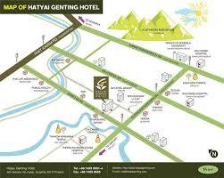 map of hat yai hatyai genting hotel hat yai thailand booking