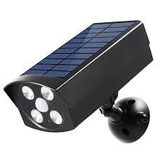 front door security light camera nice innogear usb solar powered motion sensor lights dummy camera