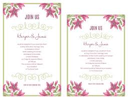vow renewal invitations free vow renewal invitation suite purple floral design