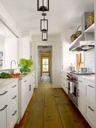 Bright Kitchen Galley Normabudden Com Galley Kitchen Lighting Ideas Pictures From Hgtv Bright Cottage