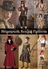steampunk sewing patterns dresses coats plus sizes men u0027s patterns