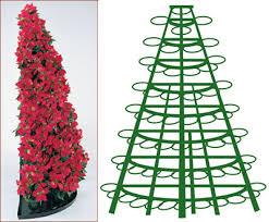 poinsettia tree poinsettia tree racks creative displays