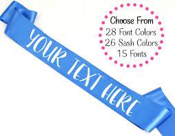custom sash custom sash custom bachelorette party sash custom birthday