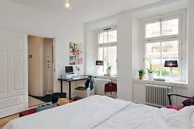 Bedroom Furniture For College Students by Bedroom Bedrooms Decorated In White Glass Office Desk Desk Ikea