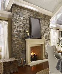Unique And Beautiful Stone Fireplace by Best 25 Stone Veneer Fireplace Ideas On Pinterest Stone