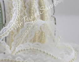 lace ribbon by the yard ivory lace ribbon etsy