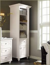 White Linen Cabinets For Bathroom Bathroom Linen Cabinets Planinar Info