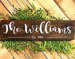 wedding gift name sign personalized wedding gift etsy