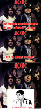 Acdc Meme - ac dc t n t by wassup5 meme center