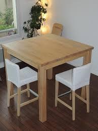 fabriquer une table bar de cuisine table haute en palette beautiful modern fabriquer table haute une