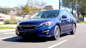 blue subaru hatchback 2017 subaru impreza review and road test youtube