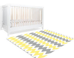 Gray And Yellow Rugs Yellow Rug Etsy