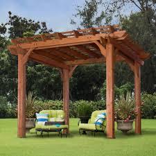 pergolas terrific interesting green sofa and beautiful wood