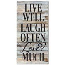 love live and laugh live laugh love sign rustic wood sign sturbridge yankee workshop