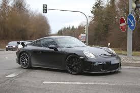 2008 porsche gt3 for sale 2017 porsche 911 gt3 facelift spied with a nose should come