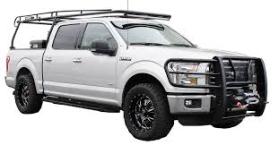 Ford F350 Landscape Truck - westin u0027s new overhead truck rack fits ford supers from 1999 to now