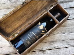 wine box wedding ceremony personalized wine box custom wine box birch tree