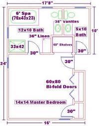 master bed and bath floor plans normal bedroom size descargas mundiales com