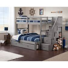 Columbia Full Over Full Bunk Bed by Bunk Beds Stones Kenmore Mattressstones Mattress Staircase Bed