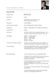 personal profile on resume cv germany graduate jaimin kalaiya