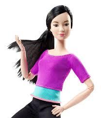 barbie move doll purple dhl84 barbie