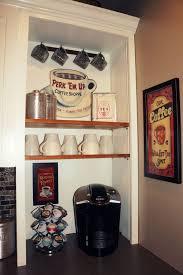 Kitchen Coffee Bar Ideas Uncategories Coffee Bar Chalkboard In Cabinet Coffee Station