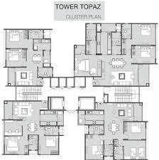 azure floor plan godrej azure phase 2 in padur chennai price location map floor