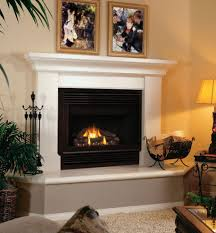 simple unique modern fireplace for small house with wooden floor