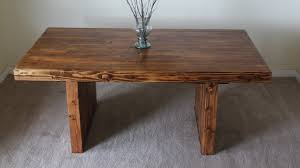 james and james tables james james 6 modern farmhouse table in early american stain
