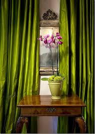 Moss Green Curtains Green Apple Silk Curtain Dupioni Silk Window Dressing Draping