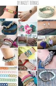 bracelet tutorials images 51 more diy jewelry tutorials jpg