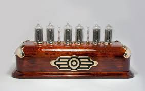 steampunk style nixie clock on in 8 2 nixies from hius on tindie