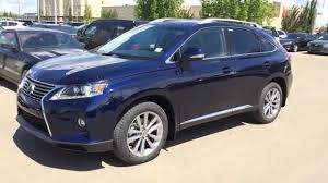 used lexus rx 350 with navigation 2015 lexus rx 350 awd touring package review blue on black