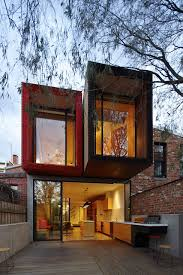 compact houses the home with a japanese maple tree in melbourne by andrew maynard